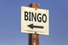 Η λέξη και το βέλος Bingo καθοδηγούν 2 Στοκ Εικόνες