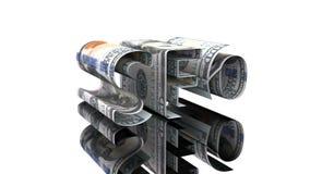 Η λέξη SEO που αποτελείται από τα αμερικανικά δολάρια, η έννοια της εξάρτησης κέρδους στις τεχνολογίες SEO ελεύθερη απεικόνιση δικαιώματος