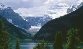 η λίμνη Αλμπέρτα Καναδάς Στοκ φωτογραφίες με δικαίωμα ελεύθερης χρήσης