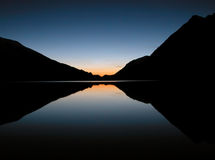 η λίμνη απεικόνισε ακόμα τ&omicron Στοκ εικόνα με δικαίωμα ελεύθερης χρήσης