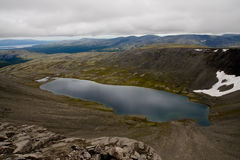 η λίμνη σύννεφων απεικονίζ&epsil Στοκ φωτογραφίες με δικαίωμα ελεύθερης χρήσης