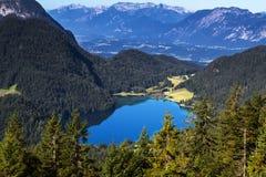 Η λίμνη Hintersteiner βλέπει στην Αυστρία Στοκ Εικόνα