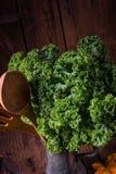 Η λαχανώδης κράμβη του Kale Στοκ φωτογραφία με δικαίωμα ελεύθερης χρήσης