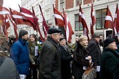 η λετονική μονάδα SS εορτα&si Στοκ φωτογραφίες με δικαίωμα ελεύθερης χρήσης