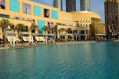 Η λεωφόρος του Ντουμπάι είναι η λεωφόρος παγκόσμιων ` s μεγαλύτερη αγορών Στοκ φωτογραφία με δικαίωμα ελεύθερης χρήσης
