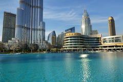 Η λεωφόρος του Ντουμπάι είναι η λεωφόρος παγκόσμιων ` s μεγαλύτερη αγορών Στοκ Εικόνες