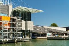 Η Λισσαβώνα Oceanarium Στοκ εικόνα με δικαίωμα ελεύθερης χρήσης