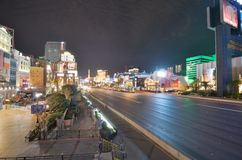 Η λουρίδα, Las Vegas Strip, μητροπολιτική περιοχή, μητρόπολη, εικονική παράσταση πόλης, πόλη Στοκ Φωτογραφία