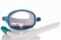 Η μάσκα κατάδυσης και κολυμπά με αναπνευτήρα Στοκ εικόνες με δικαίωμα ελεύθερης χρήσης