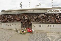 Η μάχη του μνημείου της Μεγάλης Βρετανίας στοκ φωτογραφία