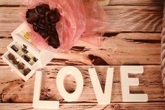 Η μίνι σοκολάτα μεταχειρίζεται Στοκ Φωτογραφίες