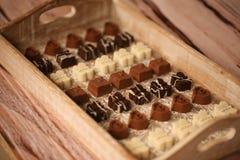 Η μίνι σοκολάτα μεταχειρίζεται Στοκ φωτογραφίες με δικαίωμα ελεύθερης χρήσης
