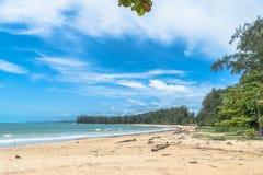 Η μακριά παραλία εντοπίζει την παραλία Niyang Στοκ φωτογραφία με δικαίωμα ελεύθερης χρήσης