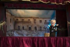 Η μαριονέτα παρουσιάζει Στοκ Φωτογραφία