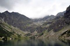 Η μαύρη λίμνη Gasienica Στοκ φωτογραφίες με δικαίωμα ελεύθερης χρήσης