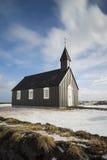 Η μαύρη εκκλησία από το ξενοδοχείο Budir Στοκ Εικόνες