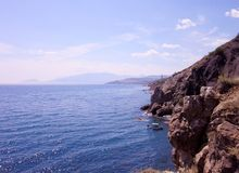 Η Μαύρη Θάλασσα Στοκ εικόνα με δικαίωμα ελεύθερης χρήσης