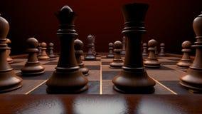 η μαύρη μεταφορά συντρόφων κυριώτερης απώλειας παιχνιδιών τελών σκακιού επιχειρησιακού ελέγχου χαρτονιών μονοχρωματική πέρα από τ στοκ εικόνα με δικαίωμα ελεύθερης χρήσης
