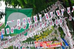 13η μαλαισιανή γενική εκλογή Στοκ εικόνα με δικαίωμα ελεύθερης χρήσης