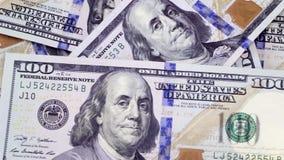 Η μείωση στην απώλεια χρημάτων δολαρίων μετρητών απόθεμα βίντεο