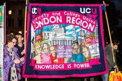 Η Μεγάλη Βρετανία αξίζει μια άνοδο αμοιβής - τελειώστε τη διαδήλωση διαμαρτυρίας ΚΑΠ τώρα Στοκ φωτογραφίες με δικαίωμα ελεύθερης χρήσης
