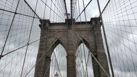Η μεγάλη γέφυρα του Μπρούκλιν στοκ εικόνα
