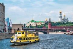 Η μεγάλη γέφυρα Moskvoretsky Στοκ Φωτογραφίες