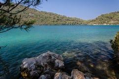 Η μεγάλη λίμνη το πρωί στοκ εικόνα με δικαίωμα ελεύθερης χρήσης