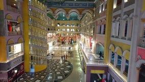 Η μεγάλη λεωφόρος μεγαλύτερο Noida της Βενετίας στοκ εικόνα
