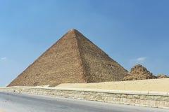 Η μεγάλη πυραμίδα Giza, Αίγυπτος στοκ εικόνες με δικαίωμα ελεύθερης χρήσης