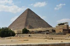 Η μεγάλη πυραμίδα Giza, Αίγυπτος στοκ εικόνα