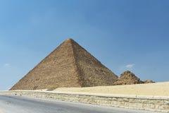 Η μεγάλη πυραμίδα Giza, Αίγυπτος στοκ φωτογραφία