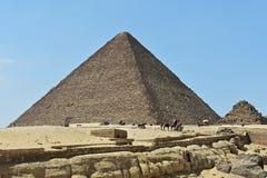 Η μεγάλη πυραμίδα Giza, Αίγυπτος στοκ φωτογραφία με δικαίωμα ελεύθερης χρήσης