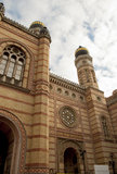 Η μεγάλη συναγωγή της Βουδαπέστης (Ουγγαρία) Στοκ εικόνες με δικαίωμα ελεύθερης χρήσης