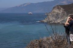 Η μεγάλη ακτή Sur σε Καλιφόρνια Στοκ Εικόνες