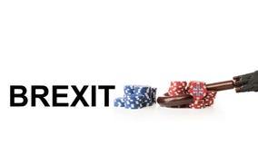 Η Μεγάλη Βρετανία αφήνει την Ευρωπαϊκή Ένωση Στοκ Φωτογραφία