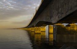 Η μεγάλη γέφυρα ζωνών Στοκ φωτογραφία με δικαίωμα ελεύθερης χρήσης