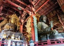 Η μεγάλη εικόνα του Βούδα, Νάρα, Ιαπωνία 2 Στοκ εικόνα με δικαίωμα ελεύθερης χρήσης