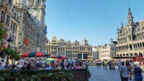 Η μεγάλη θέση των Βρυξελλών, Βέλγιο Στοκ εικόνα με δικαίωμα ελεύθερης χρήσης