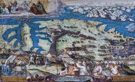Η μεγάλη πολιορκία της Μάλτας 1565 Στοκ Φωτογραφίες
