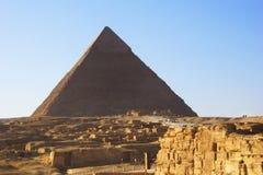 Η μεγάλη πυραμίδα Giza Στοκ εικόνα με δικαίωμα ελεύθερης χρήσης
