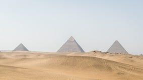 Η μεγάλη πυραμίδα Giza, Giza, Αίγυπτος Στοκ φωτογραφία με δικαίωμα ελεύθερης χρήσης