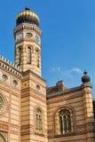 Η μεγάλη συναγωγή στη Βουδαπέστη, Ουγγαρία Στοκ Εικόνες