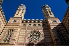 Η μεγάλη συναγωγή στη Βουδαπέστη Στοκ Φωτογραφία