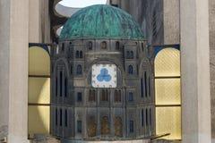 Η μεγάλη συναγωγή στο Τελ Αβίβ Στοκ Εικόνες
