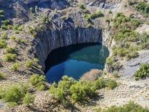 Η μεγάλη τρύπα Στοκ Εικόνα