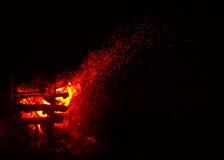 Η μεγάλη φωτιά Στοκ εικόνες με δικαίωμα ελεύθερης χρήσης