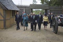 Η μεγαλειότητά της βασίλισσα Elizabeth II Στοκ Εικόνες