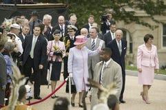 Η μεγαλειότητά της βασίλισσα Elizabeth II, Στοκ Εικόνες
