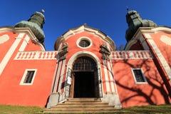 Η μεγαλειότητα του Calvary σε Banska Stiavnica, υπέγραψε στην ΟΥΝΕΣΚΟ Στοκ φωτογραφία με δικαίωμα ελεύθερης χρήσης